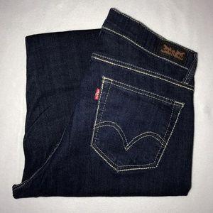 Levi's 529 Curvy Bootcut Jeans 12 M 31